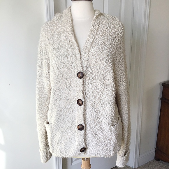 POL Sweaters - Super Soft Hooded Cardigan POL